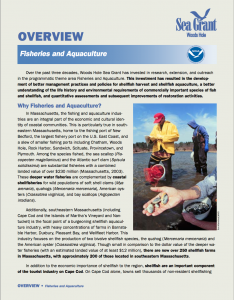 Download overview of Fisheries & Aquaculture from 2000-2006